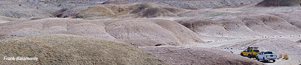 driving in the borrego badlands