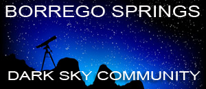 borrego springs dark sky community astronomy